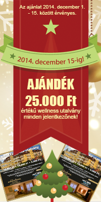 25.000.-Ft-os wellness utalvány