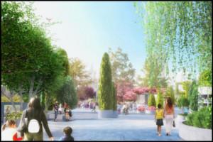 Arborétum a város felett?
