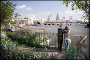 Zöld gyaloghíd épülhet Londonban?